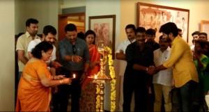 Dulquer Salman's Solo Movie Pooja Photos