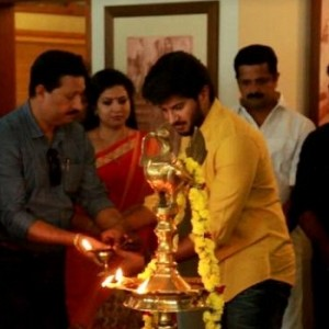 Dulquer Salman's Solo Movie Pooja Photos