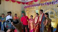 Editor Manikanda Balaji weds Sukanya
