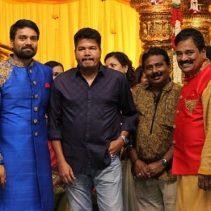 FEFSI Vijayan Master's Son Wedding reception Photos