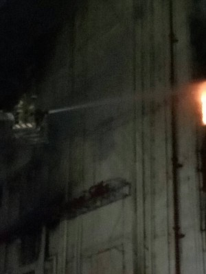 Fire accident at Chennai Silks