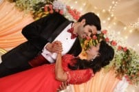 Ganesh Venkatraman-Nisha Krishnan wedding reception