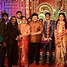 H.vasanth kumar son Marriage Reception