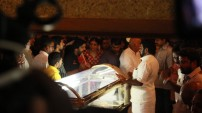 Industry's last respect to Cho Ramaswamy