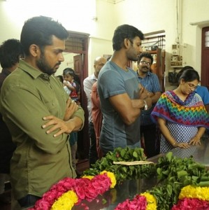 Industry's last respect to director K. Subhash