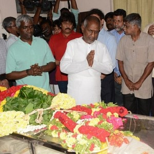 Industry's last respect to M.Balamuralikrishna