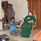 J Jayalalitha meets press