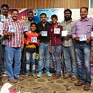 Jigina audio launched by Kaaka Muttai kids
