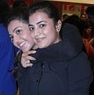Kajal and Nisha Agarwal at Zumba Session Gold Gym