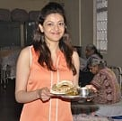 Kajal celebrates her birthday at an Old Age Home