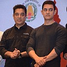 Kamal Haasan and Amir Khan at the opening ceremony of the 11th CIFF