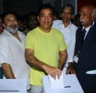 Kamal Haasan Voting in South Indian Film Chamber Election 2014