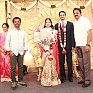 Kamala Cinemas Chairman Chidambaram's Grandson Sunder Valliappan's Wedding Reception