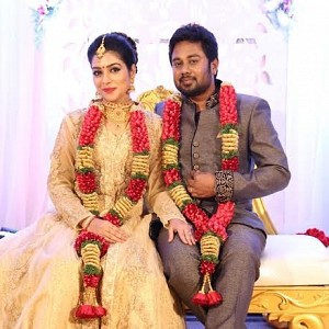 Karthik - Satna Titus Wedding Reception Stills