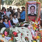 Last respects to Lt Col Niranjan