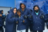 Launch of Snow Play at Phoenix Mall