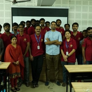 Master Class with Director Rohin Venkatesan with BOFTA students