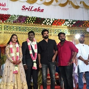 Metro Director Anandha Krishnan marriage reception stills