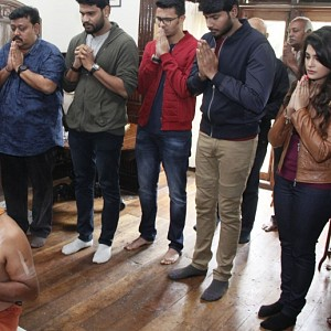 Naragasooran Movie Pooja Stills