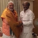 Narendra Modi meets Superstar Rajinikanth