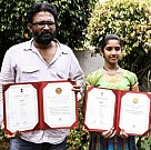 National Award Winning Thanga Meengal Team