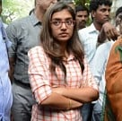 Nazriya at Commissioner Office