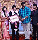 Pandiarajan's Son Wedding Reception Photos
