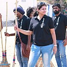 Papparapaam Team began their movie by Cleaning the City