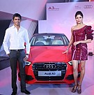 Parvathy Omanakuttan Launches The Audi A3 Sedan Car