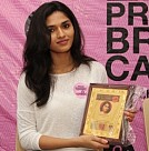 Pink Ribbon Walk at Shri Krishnaswamy College for Women