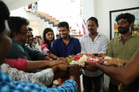Pooja of Santhanam's next with VTV Productions