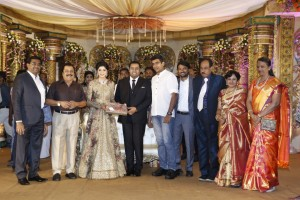 Producer Abinesh Elangovan And Nandhini Ravindran Wedding