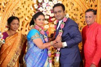 Producer LMM Muralidharan(Lakshmi Movie Maker's) Son M.Gokul Krishnan Wed's S.Roopini