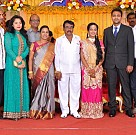 Producer T.R.Selvam's daughter Krithika wedding photots