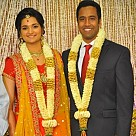Producer Venkatramani's daughter Anusha & Varunkumar Wedding Reception