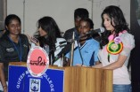 Queen Marys College Students Celebrate Chennai Turns Pink