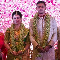 Radhika Sarathkumar's daughter engagement