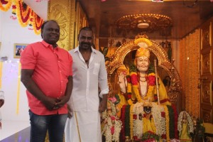 Raghava Lawrence opens a temple for his mother