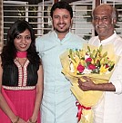 Rajinikanth wishes the newly wed Raja