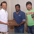 S R Prabhakaran Meets M K Stalin