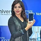 Samantha launches Samsung Galaxy Note III