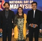 Sarath Kumar & Radharavi celebrate the 56th National Day of Malaysia