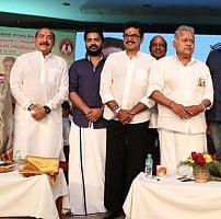 Sarathkumar's Team Meet