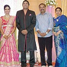Sathya Jyothi Films TG Thyagarajan son Sendhil Wedding Reception