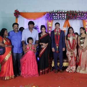 Seenu Ramasamy's sister Anitha wedding reception photos