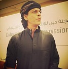 Shah Rukh Khan at Dubai with Happy New Year Team