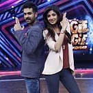 Shilpa Shetty on sets of Boogie Woogie