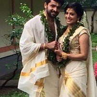 Shivada Nair Wedding