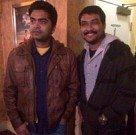 Simbu watches Veeram at California