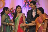 Singer MK Balaji and Priyanka Wedding Reception